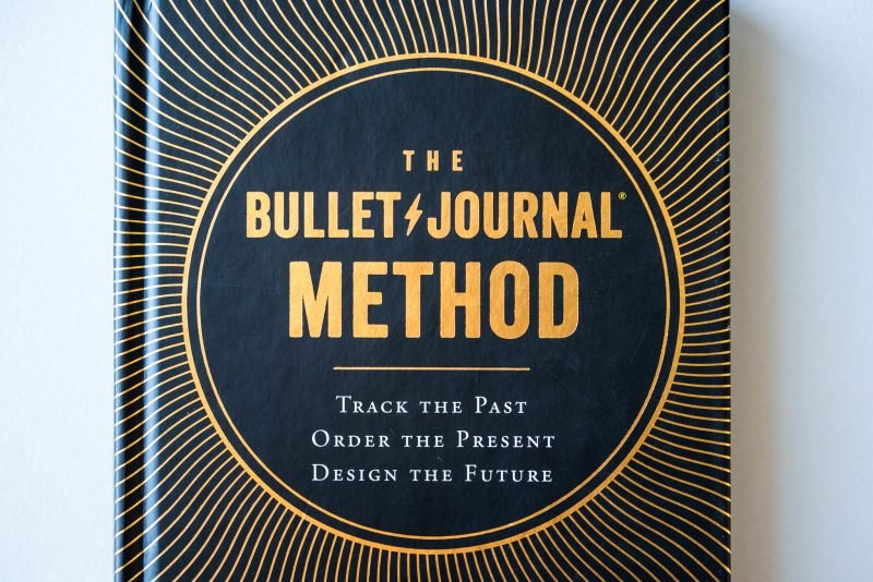 The Bullet Journal Method Book Review cover