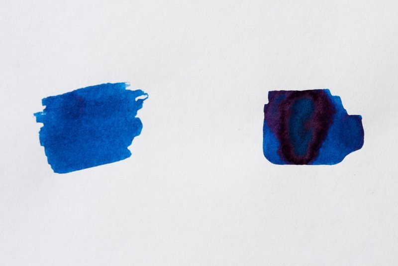 Berlin Notebook Blue No 1 Fountain Pen Ink color