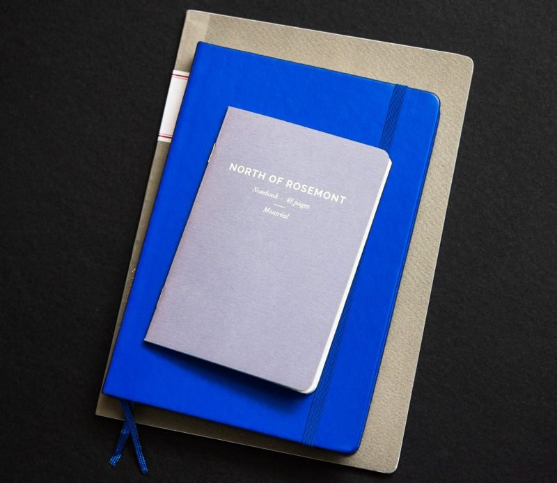 fountain pen friendly notebook size comparison