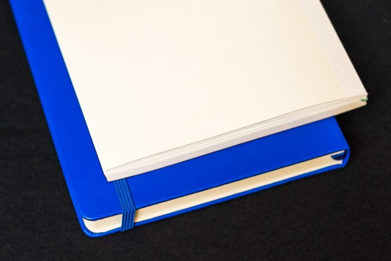 hard versus soft cover notebook