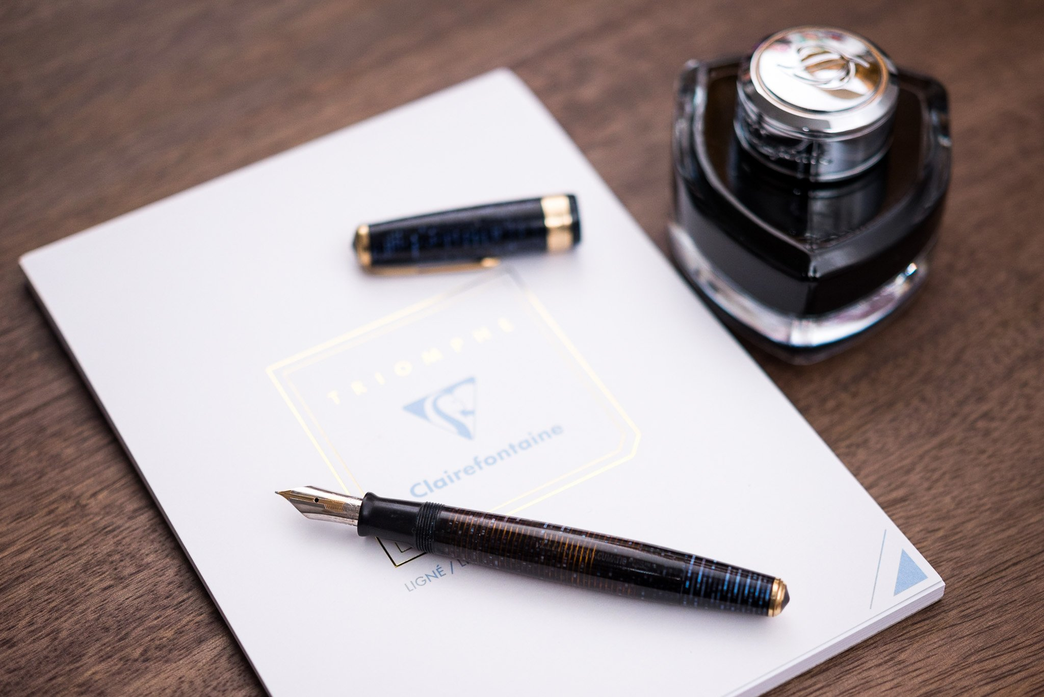 Clairefontaine Triomphe Writing Paper Review - Fountain Pen Love