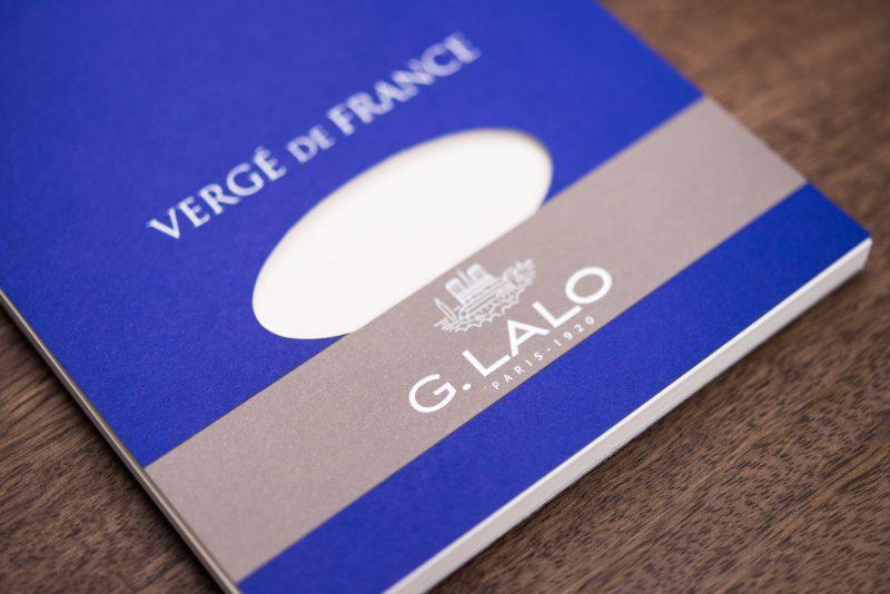 G Lalo Verge de France paper pad detail